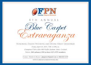 FPN 4th Annual Invitation Honoring Danny Wuerffel Desire Street Ministries