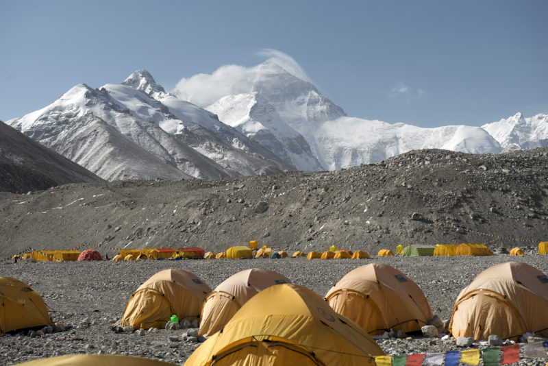 DSC_5749_Basecamp (5200 m) below the north side of Mt. Everest, Tibet. Copyright Dave Ohlson_50percent