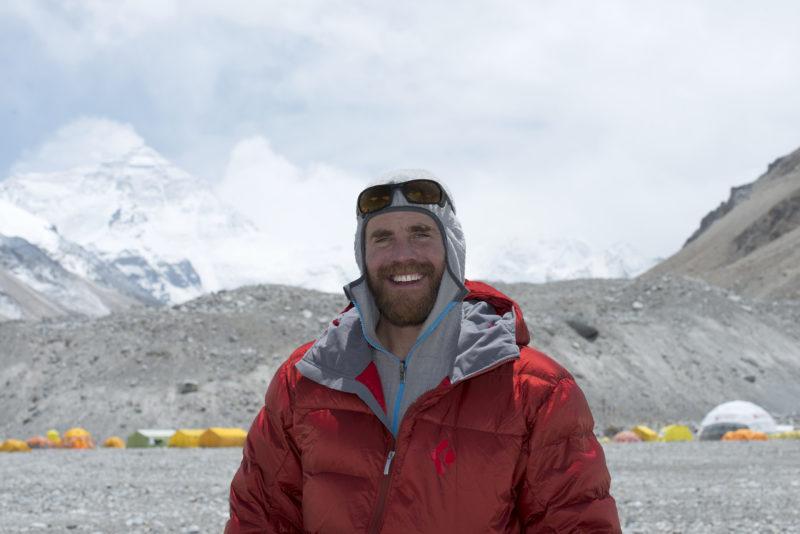 DSC_5796_Dave Ohlson in Everest basecamp (5200 m), Tibet. Copyright Dave Ohlson_50percent